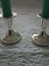 Silver Plated Candle Holders Montreal, H8N