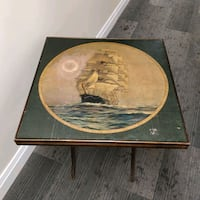 1920s Antique Folding card table Nautical  Toronto, M2J 2C2