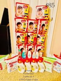 Baby Diapers/Laundry Detergent
