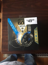 black and blue Turtle Beach amplified gaming headset box Gambrills, 21054