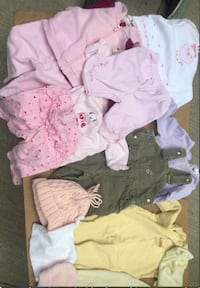 Baby GIRL Clothes (0-3 month)