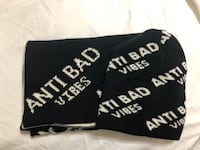 ANTI BAD VIBES Scarf & Beanie Set Surrey, V3V 4L2