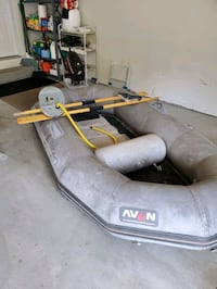 Avon dinghy and Outboard