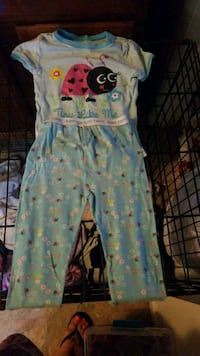 toddler's white and blue floral sleeveless dress Fort Wayne, 46805
