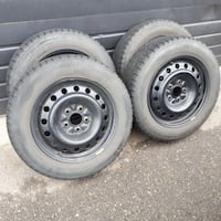 BFGoodrich Winter Tires 205/60R16 M+S with Wheels Mission