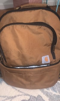 Carhartt backpack with cooler on the bottom