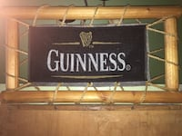 Brown Logframed-framed guinness banner Genoa, 48116