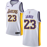white and red Nike Los Angeles Lakers 24 jersey Sunland Park