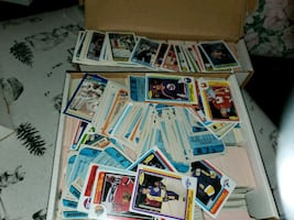 Hockey Baseball NFL Collector Cards