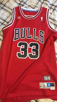 red and black Chicago Bulls 23 jersey Caledon, L7C 3Y3