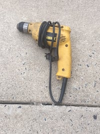 Yellow and black corded power tool Clifton, 20121