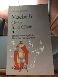 Libro macbeth Otelo julio cesar Madrid, 28002