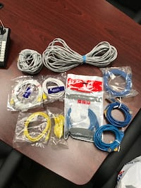 Assorted Internet & Network Patch Cords For Sale
