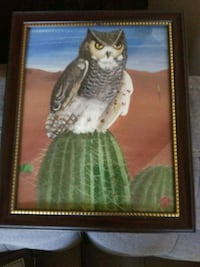 brown wooden framed painting of woman Phoenix, 85006