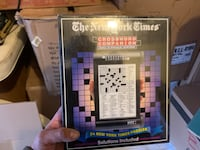 The New York Times Crossword Companion Roll-A-Puzzle System Volume 1 Mississauga, L5R
