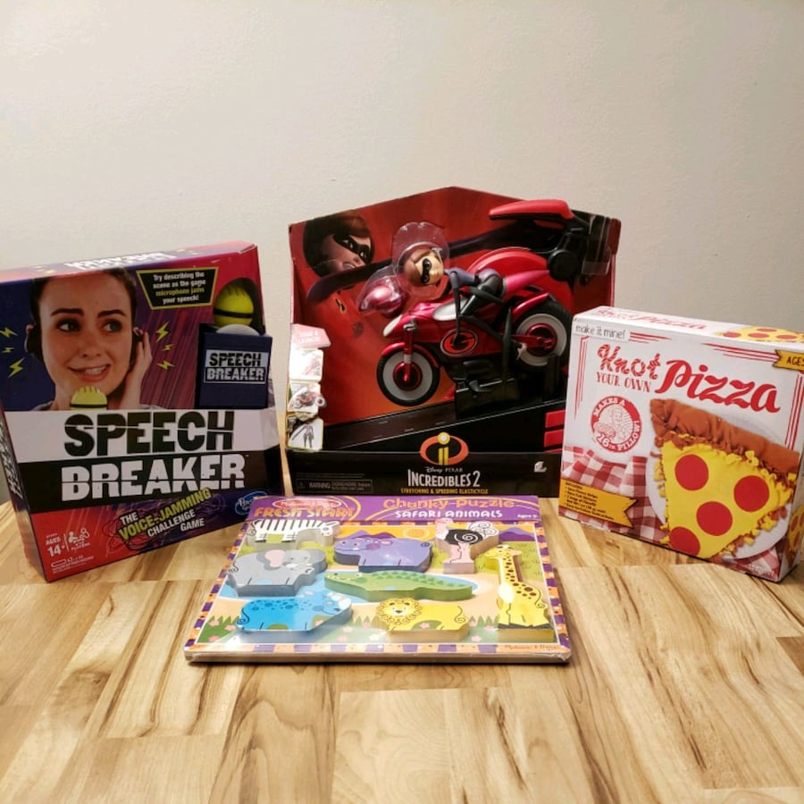 Incredibles 2, Speech Breaker and More Kids Toys Lot