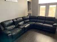 Dunhill Leather Power Reclining Sectional