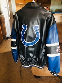 black and blue leather jacket Grand Junction, 81504