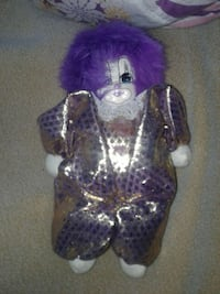 purple hair clown plush toy Edmonton, T6K 3C5