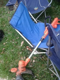 blue and black camping chair Alexandria, 22314