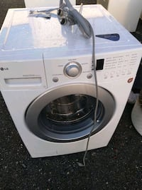 LG large-capacity front load washer works good 90 day warranty deliver Capitol Heights, 20743