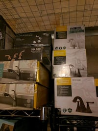 black and gray home theater system Queens