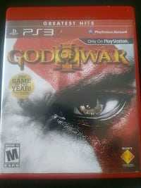 God of War 3 ps3 Woodhaven, 48183