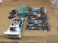 4 NTC RC cars (one not in photo)