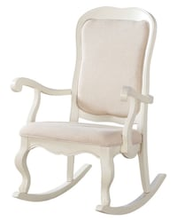 white wooden framed gray padded armchair North Chesterfield, 23236