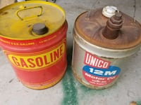 5 gallon Metal Oil and Gas cans Newburgh, 47630