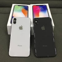 Apple iPhone X Silver and Black MADRID