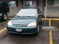 Green 01 Honda civic with new timing belt and wate Portland, 97236