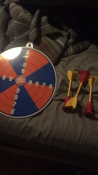 Dave & Buster's Dart Board (Comes with 3 darts!)