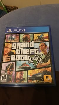 Grand theft auto five ps4 game case Grand Haven charter township, 49417