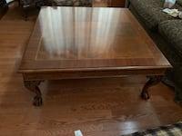 rectangular brown wooden coffee table Cobourg, K9A 5Y7
