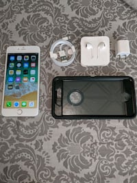 black iPhone 5 with case and charger Leesburg