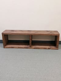 Wooden benches (2)