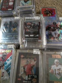 Lot of approximately 1500 football cards,  NASCAR driver cards