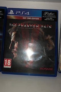Metal gear solid the panthom pain Ps4 oyun