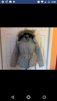 Brand New Lole Vail Womans Gray Belted Ski Puffer  Easton, 18042