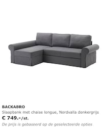 Navy blue ikea sofa with pull out bed Houston, 77042