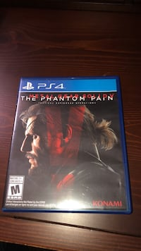 The Phantom Pain PS4 game case Moore, 29369