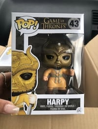*PENDING* Funko Pop! Vaulted Harpy Game of Thrones #43 Richmond Hill, L4S 1H6