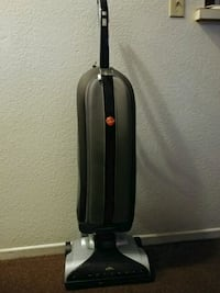black and white Hoover upright vacuum cleaner Long Beach, 90806