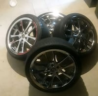 19 inch rims with tires Camp Springs, 20746