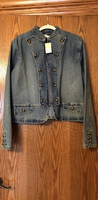 Jean Jacket New with tags size XL original price $68.00 brand new