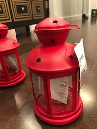 Brand new red lamps