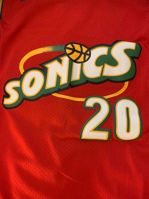 reputable site 553c0 121ef NWT Authentic Mitchell and Ness 1997-98 Gary Payton Large Jersey
