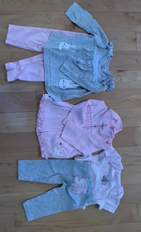 Baby girl outfits 6-9 months Mississauga, L5B 0C5