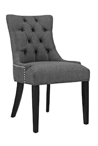 Gray Upholstered Chairs (Set Of 2) Nashville, 37221
